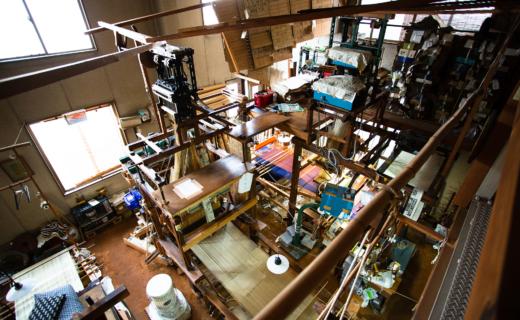 織匠平居さんの工房